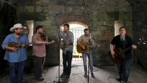 Video: Trampled By Turtles Cover The Band