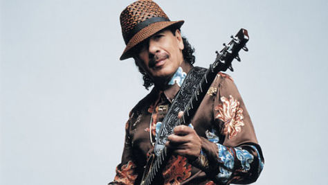 Rock: Carlos Santana's Searing Six Strings