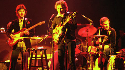 Rock: Bob Dylan Reunites with The Band