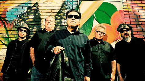 Rock: Los Lobos at Big Orange Studios in Austin