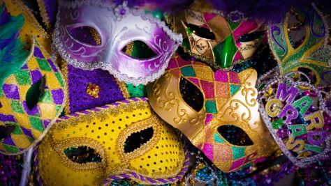 Rock: All on a Mardi Gras Day!