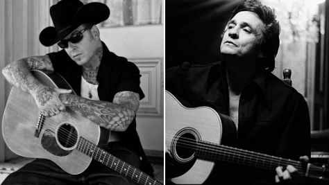Rock: Mike Ness Channels the Man in Black