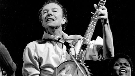 Folk & Bluegrass: Pete Seeger on Campus