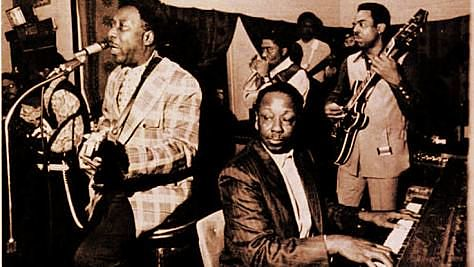Blues: Pinetop Perkins With Muddy in Nice