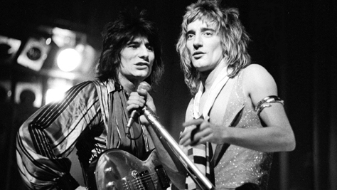 Rock: Rod Stewart and the Faces in '75