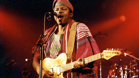 Folk & Bluegrass: King Sunny Adé at Tramps, '96